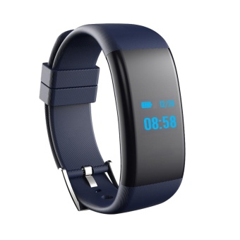 New OLED Bluetooth Smart Watch DF30 GSM Smartwatch For Android And iphone Blue - intl