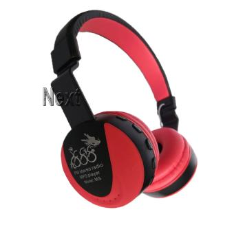 Next 888 Headphone FM TF.MP3 Bluetooth Stereo EDR Dengan Mic untuk Smartphone & Tablet