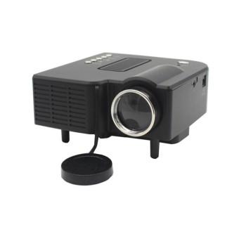 Niceeshop (UK Steker) UC28 + Proyektor Portabel Mini HD 1080 P Jarak Jauh Pengendali
