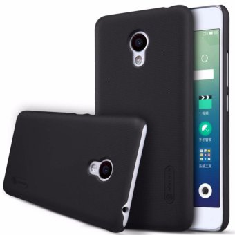 Nillkin Frosted case for Meizu M3S - Hitam + free screen protector