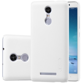 Nillkin Frosted Shield Hardcase for Xiaomi Redmi Note 3 Pro - White Clear