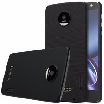 Nillkin Super Frosted case for Motorola Moto Z - Hitam + free screen protector