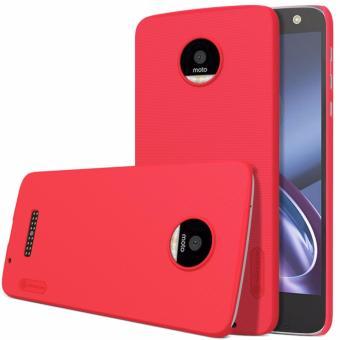 Nillkin Super Frosted case for Motorola Moto Z - Merah + free screen protector