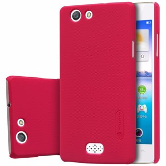 Nillkin Super Frosted case for Oppo Neo 5 (A31) - Merah + free screen
