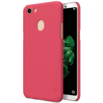 Nillkin Super Frosted Shield Matte cover case for Oppo F5 - Merah + free screen protector