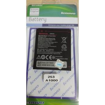 Original Battery Batery Batere Battre Batre Batrei Baterai Batrai Lenovo A1000 A2010 BL253