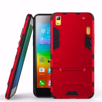 ProCase Kickstand Hybrid Armor Iron Man PC+TPU Back Cover Case for Lenovo A7000 /