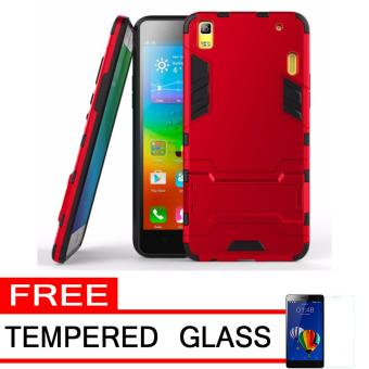 ProCase Shield Rugged Kickstand Armor Iron Man PC+TPU Back Covers for Lenovo A7000 -