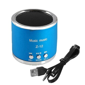 Profesional Portable Mini Speaker FM Radio USB Micro SD TF Card MP3 Player -Intl