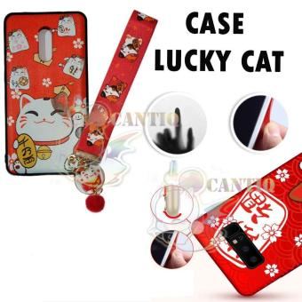 QCF Anti Crack Xiaomi Redmi Note 4X Karakter Kucing Hoki / Case Xiaomi Redmi Note 4X