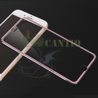 QCF Tempered Glass Ring Besi Apple iPhone 7 Plus 5.5 inch / Anti Gores Kaca Screen