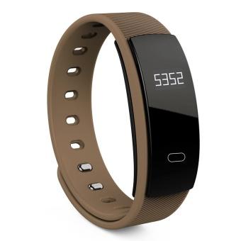 QS80 Denyut Jantung Smart Gelang Tidur Monitor Panggilan Pengingat-Intl