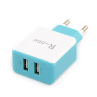 R-One Kepala Charger 2 Port USB