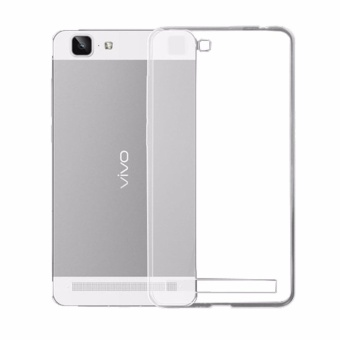 Rainbow Ultrathin Jelly Case Vivo Y35 Clear Soft Case Vivo Y35 Anti Jamur Air Case 0.3