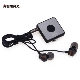 REMAX RB-S3 klip Bluetooth V4.1 + EDR headphone (Hitam)