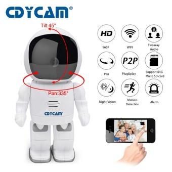 Robot IP Camera HD WIFI Baby Monitor 960P 1.3MP CMOS Wireless CCTV P2P Audio Security