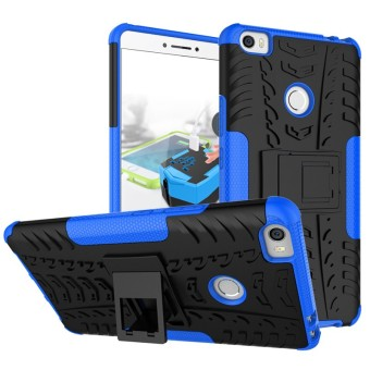 RUGGED ARMOR Xiaomi Mi Max MiMax 1 Soft Case Casing Back Cover Silicone Shockproof Kick Stand
