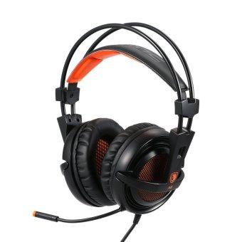 Leegoal Di Telinga Bass Makan Logam Earbud Mikrofon Headphone Source · 35 Mm Stereo Dengan Mikrofon