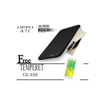 ... Baby Skin ... Source · Sofcase black matte OPPO A71 Free Temperet Glass