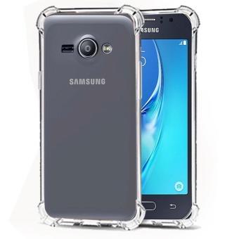 Softcase Silicon Anti Shock / Anti Crack Elegant Softcase for Samsung Galaxy J1 Ace - White
