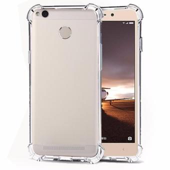 Softcase Silicon Anti Shock / Anti Crack Elegant Softcase for Xiaomi Redmi 3x - White Clear