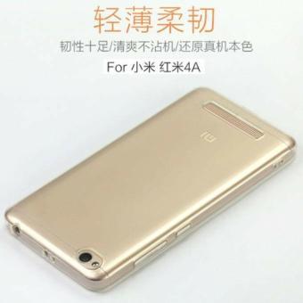 JNO Softcase Silicon Ultrathin for Xiaomi Redmi 4A - Hitam Clear