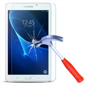 Tempered Anti Gores Kaca Samsung Galaxy Tab A 10.1 (2016) P580 / P585 Ukuran