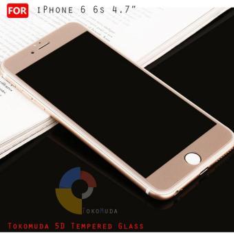 Kehebatan Anti Gores Iphone 6 6s 4 7inch Tempered Glass 2 5d Bening
