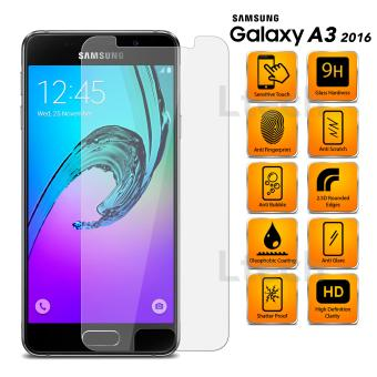 Tempered Glass Anti Gores Kaca Samsung Galaxy A3 2016 - Clear
