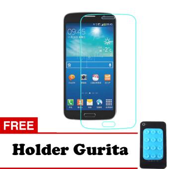 Tempered Glass Samsung Galaxy Grand 2 Screen Protector - Putih Transparant + Free Holder Gurita