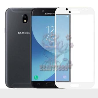 Tempered Glass Samsung Galaxy J5 Pro J530 9H Full Screen White Screen Anti Gores Kaca /