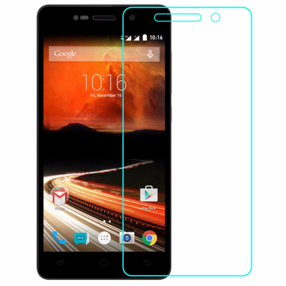 Vn Smartfren Andromax R Tempered Glass 9H Screen Protector 0.32mm - Transparan