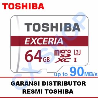 Toshiba Microsd 64GB Exceria UHS-I 90MB/s + SD Adapter