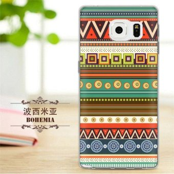 TPU Soft Phone Case untuk Samsung Galaxy Note 5/N9200 (Multicolor)-Intl