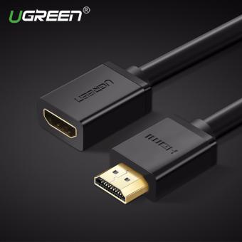 UGREEN Kecepatan Tinggi HDMI Laki-laki Ke Perempuan Extender Sambungan Kabel Adaptor (1 M