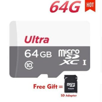 Ultra 64GB 80MB/s C10 microSDXC UHS-I Memory Card with Adapter -With Adapter and Gift