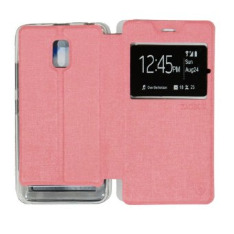 Ume Lenovo A6600 View / Flip Cover / Flipshell / Leather Case / Sarung Case /