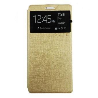 UME / UMA Flip Cover For Xiaomi Redmi Note 3 - Gold