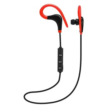 ... Bluetooth 41 Earphone. Source · Wireless Bluetooth4.1 Sport Stereo In-Ear Headphone(Red) - intl
