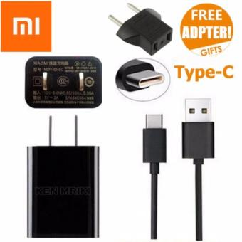 Xiaomi Travel Charger Type C for Xiaomi Mi4C 2A Original Nonpack - Hitam