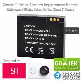 Xiaomi Yi International & China Version Baterai/Battery Replacement