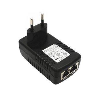 YBC Uni Eropa Plug Keamanan POE Power Supply Adapter 24 V 1 Adaptor Ethernet Injector For
