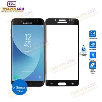 zenBlade 3D Full Cover Tempered Glass Samsung J7 Pro - Hitam