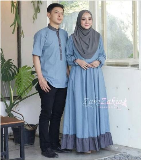 Baju Couple / Baju Pesta Couple / Dress Couple / Gamis Couple / Kemeja Couple / Baju Pasangan / Batik Couple / Baju Seragam / Sarimbit Couple / ZAKIA COUPLE