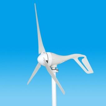 750mm Generator Turbin Angin Serat Nilon Blades Kincir Angin Power Charge Aksesoris Putih-Intl