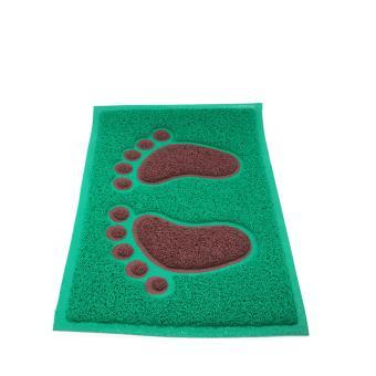 Alldaysmart Keset Rumah / Alas kaki / Karpet Lantai / Motif KAKI Ukuran 60X40