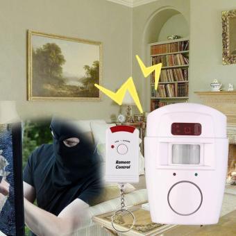 Allwin New Pir Sensor gerak Alarm pencuri rumah gudang sistem keamanan nirkabel Kit - Internasional