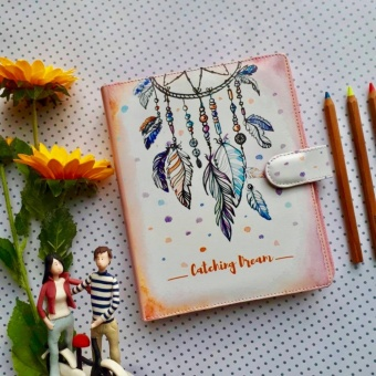Binder Printing Dreamcatcher A5/20 ring Crable Stationery