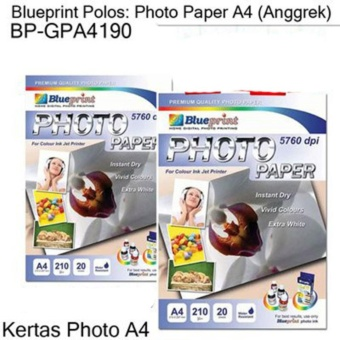 Blueprint Photo Paper BP-GPA4190 (Anggrek) - Kertas Photo Cetak Foto