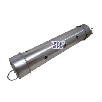 Rosita Cetakan Lontong Nugget Arem AremLemang Stainless Steel 20cm isi 12  biji. Source · Cetakan 227ba12f25
